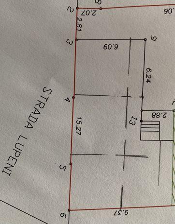 Vand casa 120 mp si demisol 120 mp investitie si dezvoltare