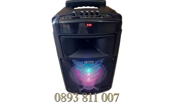 ПРОМО! 400в модел ES-07 Караоке Активна Колона с Bluetooth,USB,микрофо