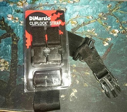 Ремень для гитары DIMarzio cliplock