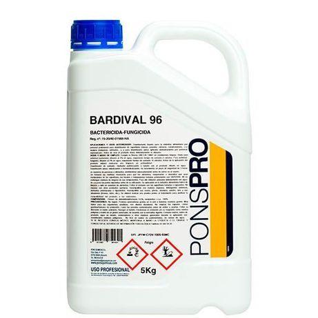 Dezinfectant concent. multisuprafete BARDIVAL 96-5L,bactericid,fungicd