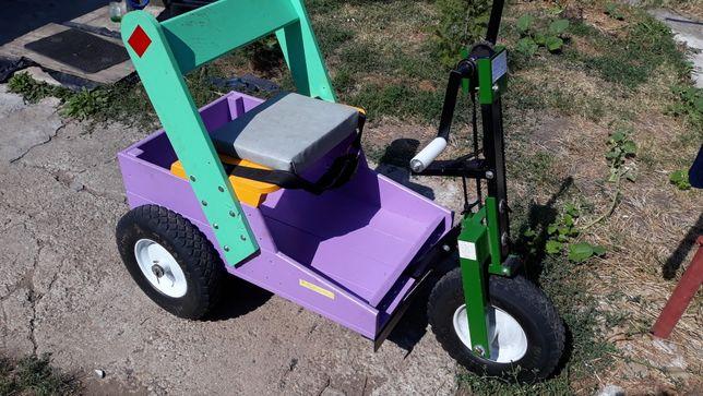 Tricicleta pentru persoane cu dezabilitati