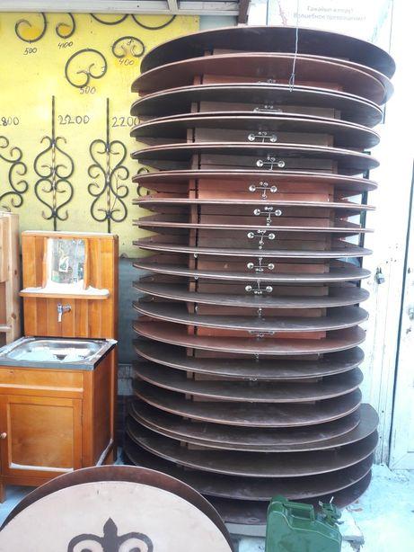 продам казахские круглые складные столы