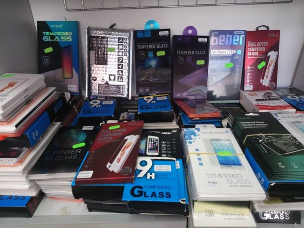 Folii sticla telefoane full face iphone/samsung/huawei/universala/DTH