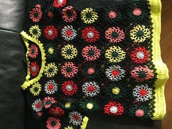 Плетена блуза Zara S