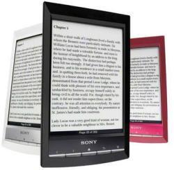 "Електронен четец ereader Sony PRS-T1/T2 6"" E-ink 2GB WiFi mp3 Audio"