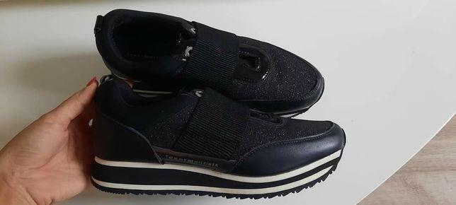 Sneakersi Tommy Hilfiger de dama