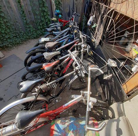 Ремонт велосипедов Запчасти
