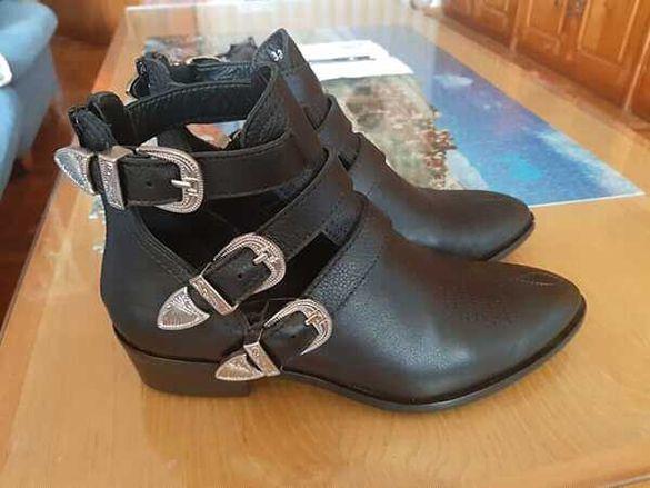 Кожени елегантни обувки