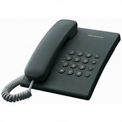 Telefon Fix Panasonic KX-TS500 (Negru)