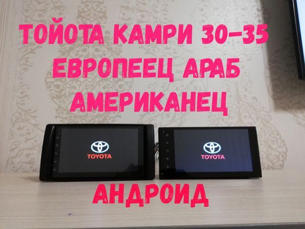 Магнитола Тойота Камри 30 35 Андроид(Toyota Camry)Рав4, Хайлюкс, Хайс