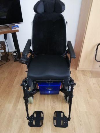 Vand scaun scaun cu rotile electric Quickie Salsa M², stare impecabila