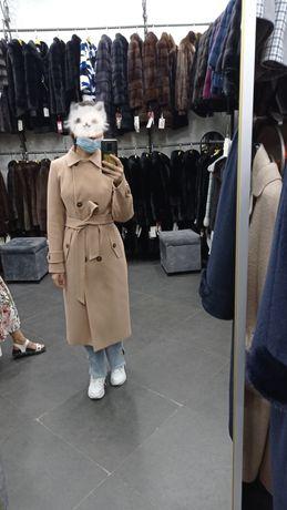 Пальто женское осенний