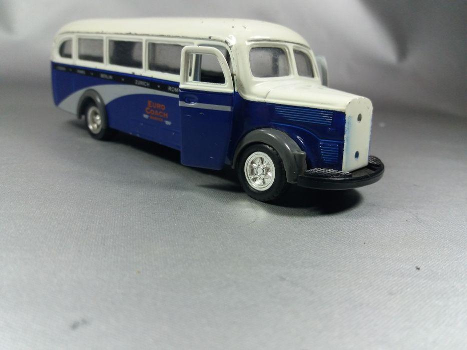 Mercedes benz autobuz autocar macheta de metal colecție original Baia Mare - imagine 1