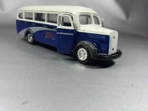 Mercedes benz autobuz autocar macheta de metal colecție original