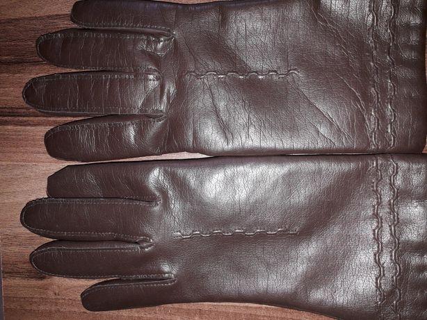 Mănuși piele noi