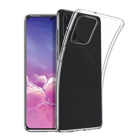 Samsung S20 S20 Plus S20 Ultra Husa Slim Silicon Neagra / Transparenta