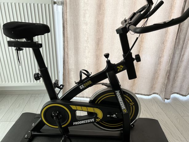 Bicicleta fitness pentru spinning, PROGRESSIVE SX2000