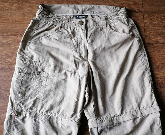 Pantaloni tehnici de munte Vaude convertibili, dama 38