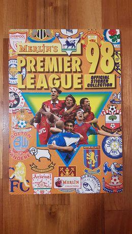 Merlin PREMIER LEAGUE 1998 album complet 100% Hardcover