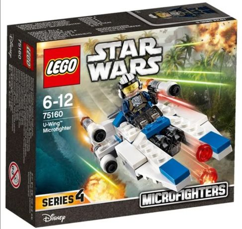 -33% Lego StarWars 6-12 ani, U-wing Microfighter 75160, Trimit Gratis