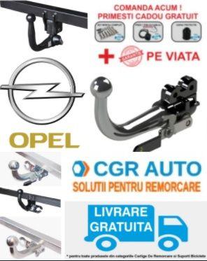 Carlige de remorcare pentru autoturisme marca Opel