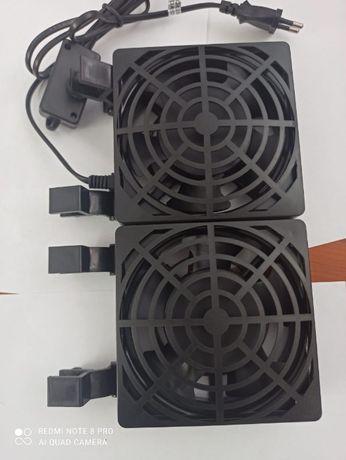 Продам аквариумный вентилятор для охлаждения освещения.