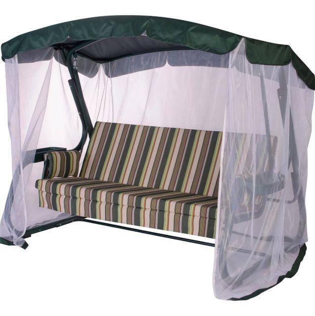 Качель - кровать с антимоскитной сеткой 350 кг Костанай - изображение 1