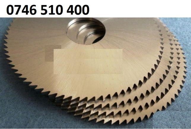 Freza (e) disc ptr. metal Ø 63 -80 -100 - 150 - 250 mm