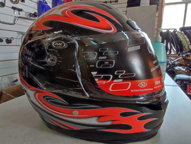 Мото шлем новый хорошего качества