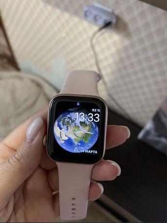 Apple Watch. 5 поколение, rose gold, 44 мм.