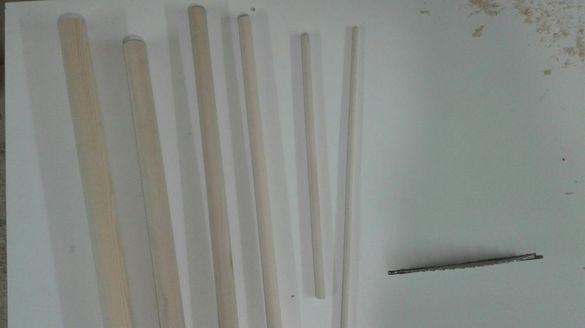Дървени профили от липа и бук