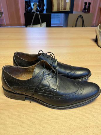 Pantofi piele barbatesti