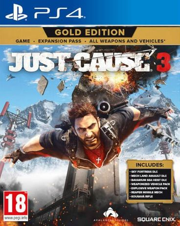 Just Cause 3 Gold Edition / PS4 / Игра / Нова / Playstation4 / TV