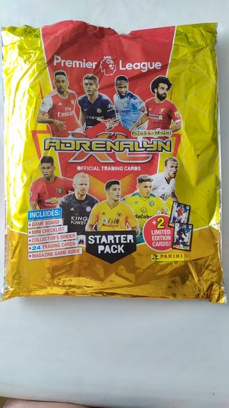 Panini Premier League 2019 2020 Adrenalyn XL Trading Cards стартов пак