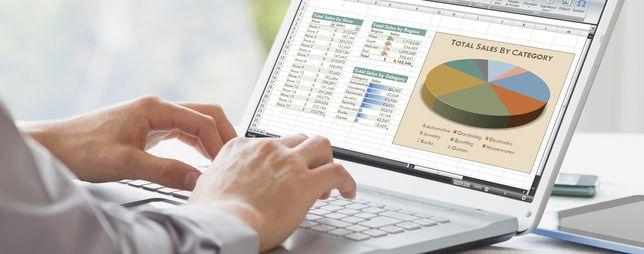 Услуги по работе в Excel (эксель). От 3 000тг.