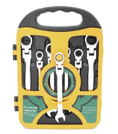 Trusa chei combinate cu brat flexibil Chrome - Vanadium 8mm - 19mm NOI