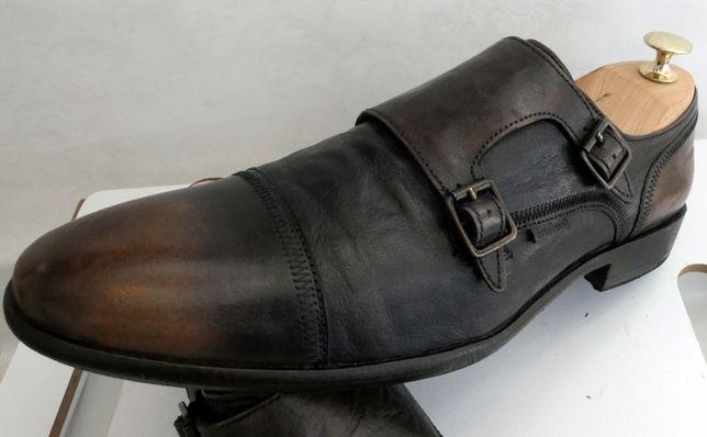 Pantofi monk Otto Kern 44 piele naturala moale