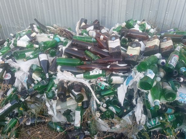 Бутылки в разнобой 15 тенге килограмм