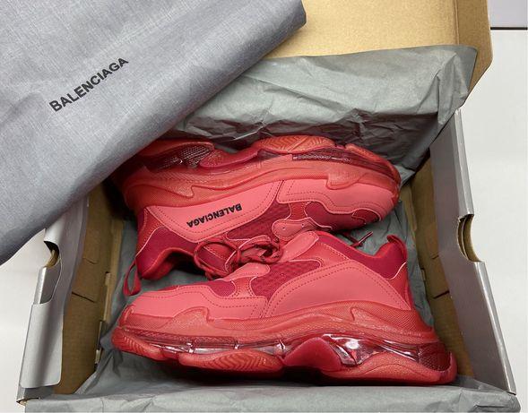 Balenciaga Triple S Full Red• Marimi 36-40,5• Calitate TOP