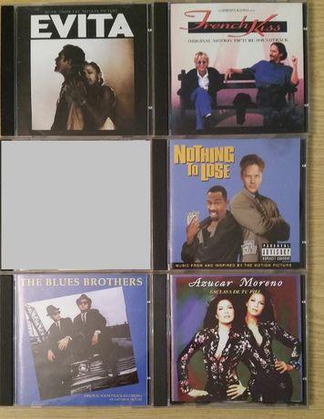Продавам 4 саундтрака към филми, оригинални аудио CD-та