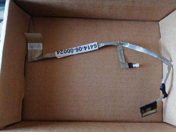 НОВ Лентов Кабел за лаптоп (LCD Cable) HP DV6 LED - DD0UP8LC006