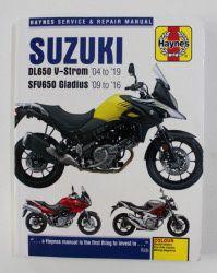 Manual SUZUKI - DL 650 V- STROM - SFV650 GLADIUS - Haynes