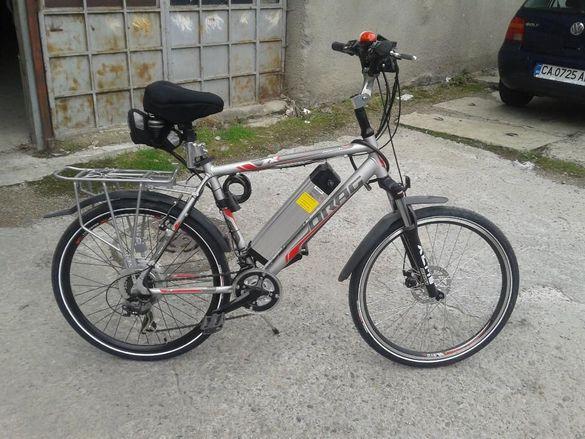 Продавам поръчков електро велосипед