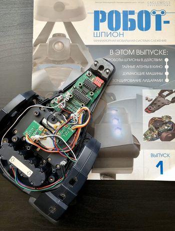 Все журналы № 1-90 «Робот шпион» деагостини