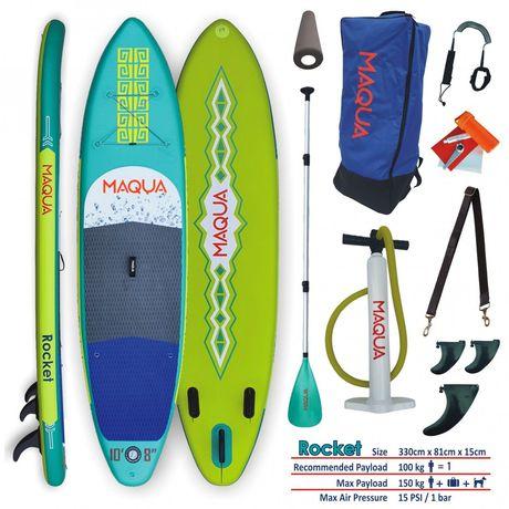 Sup Stand Up Paddle Board MAQUA ROCKET 10'8'' NOU