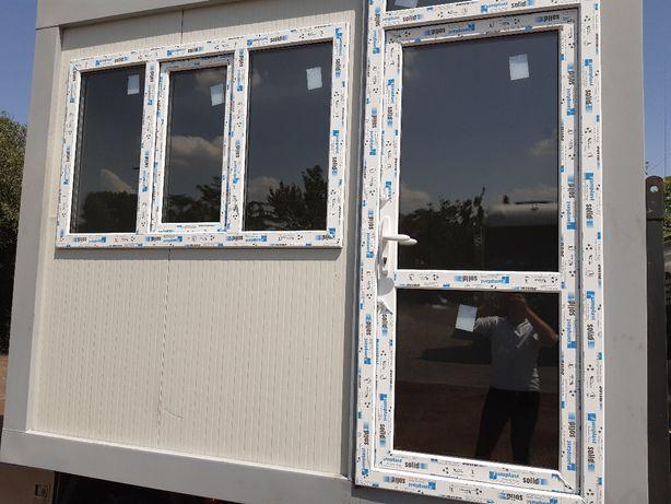 Container containere birou chiosc cabina paza vitrina dormitor santier