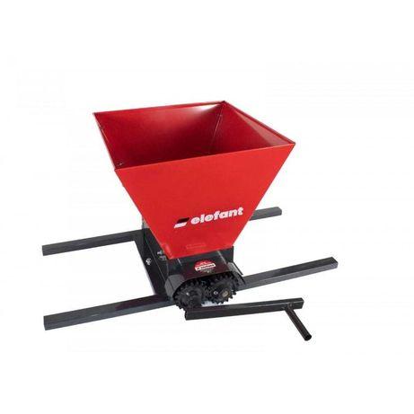 Zdrobitor pentru struguri manual ELEFANT HGP-50, 300-500kg/ora, 35 L