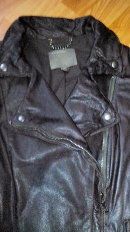 Дамско яке естествена кожа