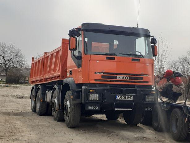 Vând camion  iveco 8×4