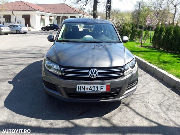 Volkswagen Tiguan Auto bine intretinut, carte service, merita vazut!